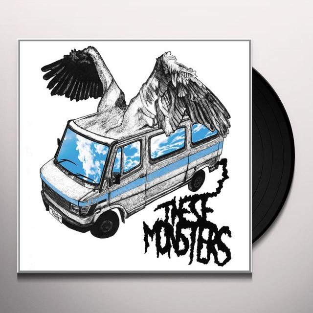 These Monsters HEROIC DOSE Vinyl Record - Digital Download Included