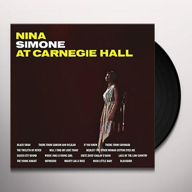 Nina Simone AT CARNEGIE HALL Vinyl Record
