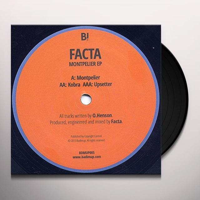 Facta MONTPELIER Vinyl Record