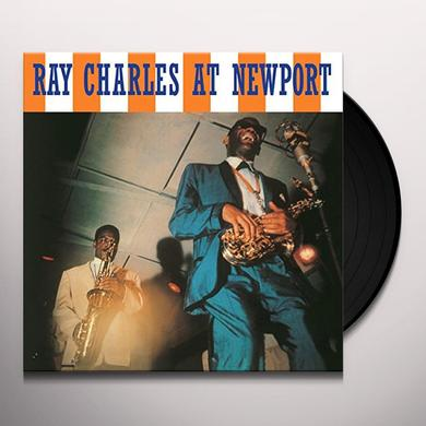Ray Charles AT NEWPORT Vinyl Record - w/CD