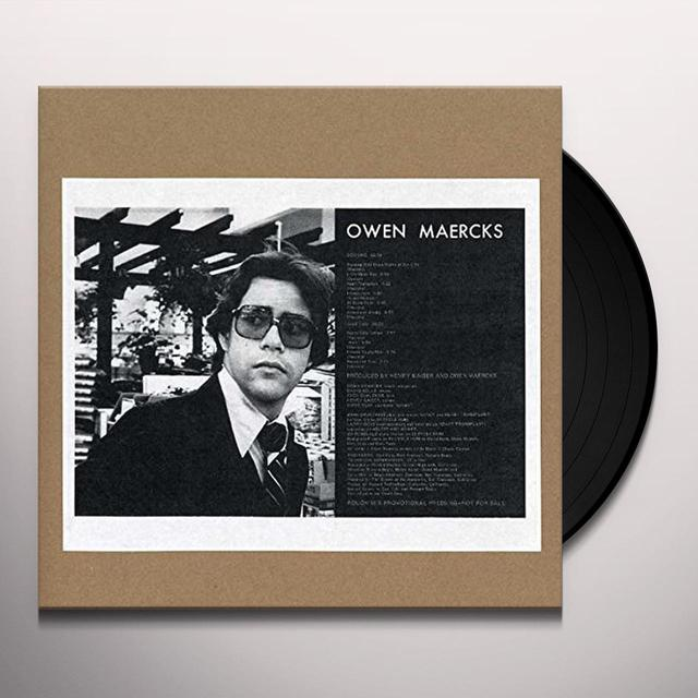 Owen Maercks TEENAGE SEX THERAPIST Vinyl Record