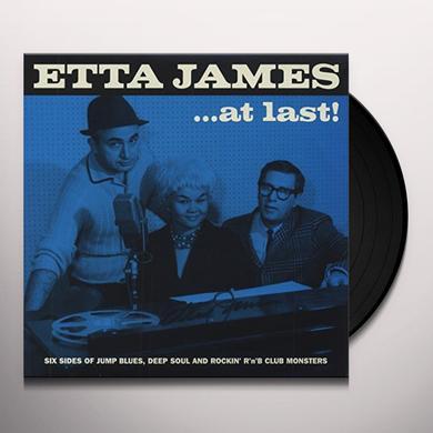 Etta James AT LAST: SIX SIDES OF JUMP BLUES DEEP SOUL & RO Vinyl Record