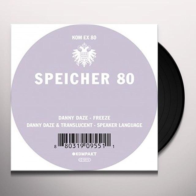 Danny Daze SPEICHER 80 Vinyl Record