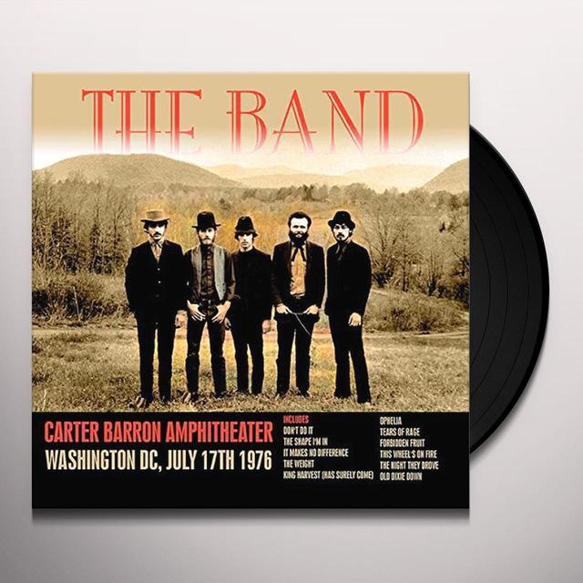 The Band CARTER BARRON AMPHITHEATER WASHINGTON DC JULY 17TH Vinyl Record