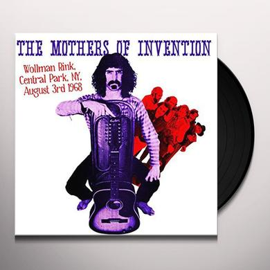 MOTHERS OF INVENTION WOLLMAN RINK CENTRAL PARK NY AUGUST 3RD 1968 Vinyl Record