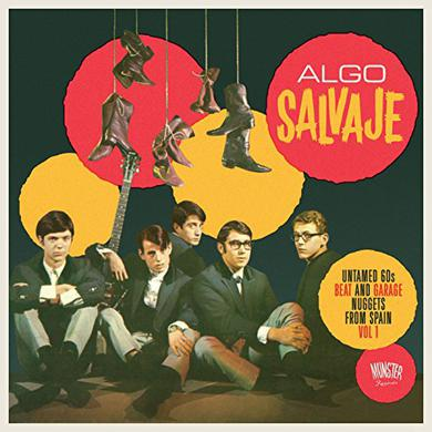 ALGO SALVAJE: UNTAMED 60S BEAT & GARAGE / VAR Vinyl Record