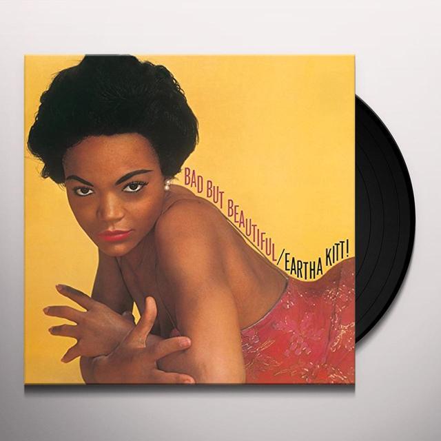 Eartha Kitt BAD BUT BEAUTIFUL Vinyl Record