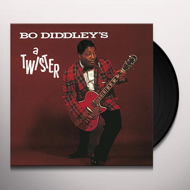 BO DIDDLEYS A TWISTER Vinyl Record