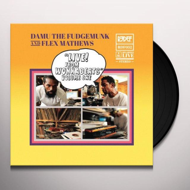 DAMU THE FUDGEMUNK & FLEX MATHEWS LIVE FROM WONKA BEATS 1 (10IN) (Vinyl)