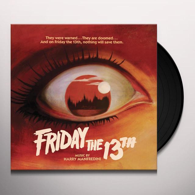 Harry Manfredini FRIDAY THE 13TH / O.S.T. Vinyl Record - Gatefold Sleeve, 180 Gram Pressing
