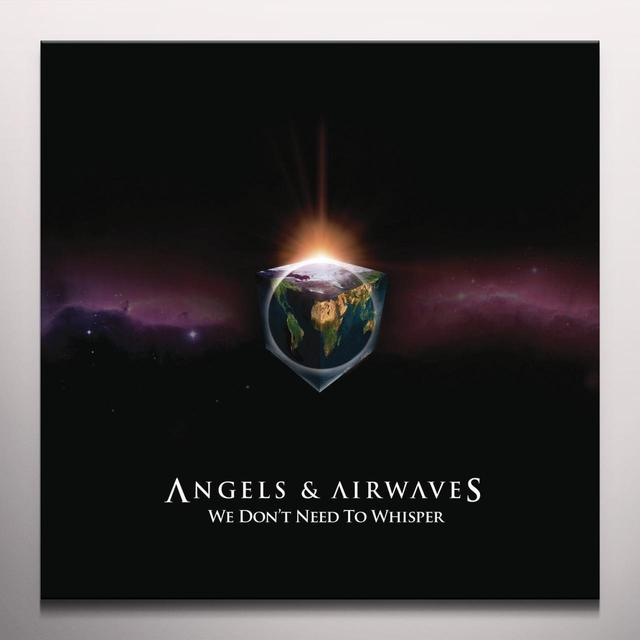 Angels & Airwaves WE DON'T NEED TO WHISPER Vinyl Record - Clear Vinyl, Gatefold Sleeve, Limited Edition, 180 Gram Pressing
