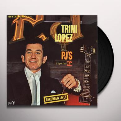 Trini Lopez AT PJ'S: RECORDED LIVE! (50TH ANNIVERSARY) Vinyl Record
