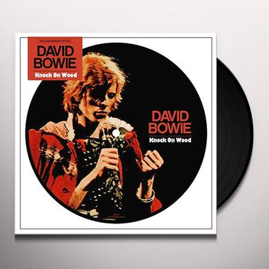 David Bowie KNOCK ON WOOD Vinyl Record - Picture Disc