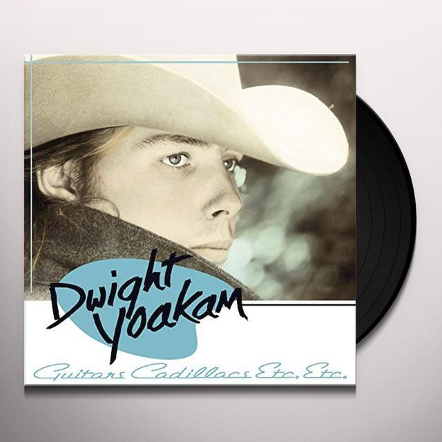 Dwight Yoakam GUITARS CADILLACS ETC ETC Vinyl Record - 180 Gram Pressing, Digital Download Included
