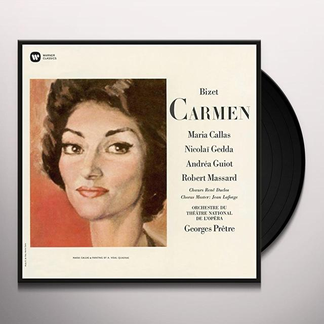 Maria Callas CARMEN Vinyl Record