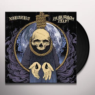 XIBALBA/SUBURBAN SCUM SPLIT Vinyl Record