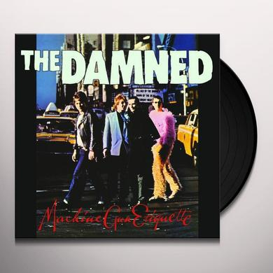 Damned MACHINE GUN ETIQUETTE Vinyl Record - Limited Edition, 200 Gram Edition