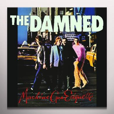 Damned MACHINE GUN ETIQUETTE Vinyl Record - Limited Edition, Red Vinyl
