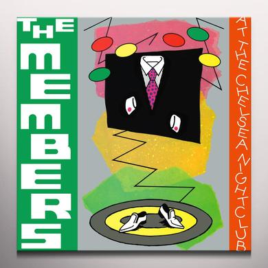 MEMBERS AT THE CHELSEA NIGHTCLUB Vinyl Record - Green Vinyl, Limited Edition