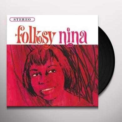 Nina Simone FOLKSY NINA Vinyl Record