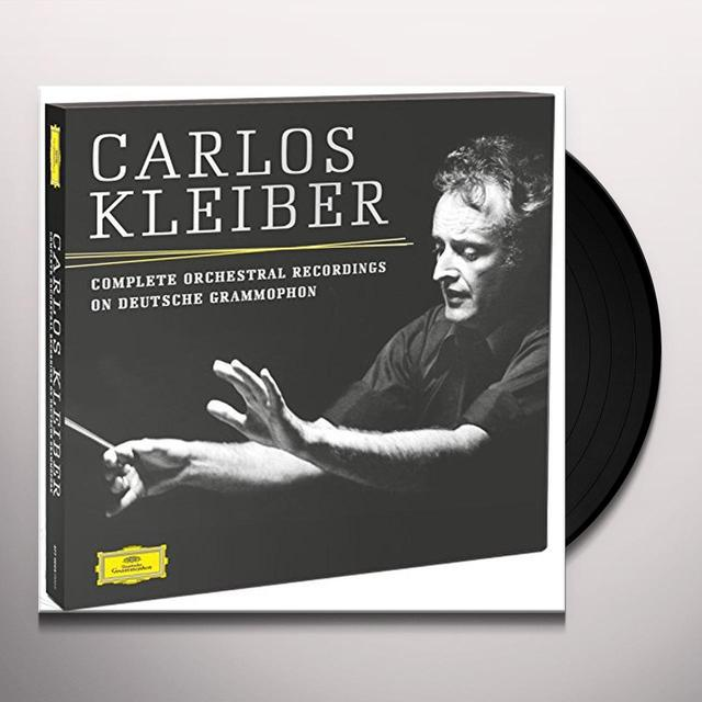 Carlos Kleiber COMPLATE ORCHESTRAL RECORDINGS ON DEUTSCHE GRAMMOP Vinyl Record