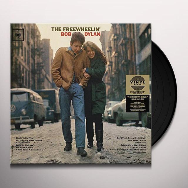 FREEWHEELIN' BOB DYLAN Vinyl Record - UK Import