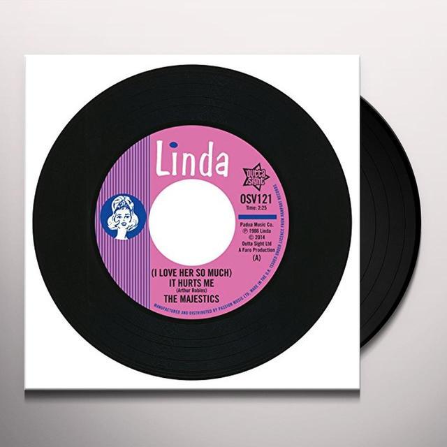 David Majestics & Ruben IT HURTS ME Vinyl Record - UK Import