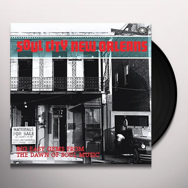 SOUL CITY NEW ORLEANS: BIG EASY GEMS / VARIOUS Vinyl Record