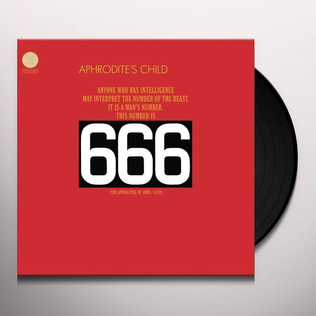 APHRODITE'S CHILD 666 Vinyl Record - UK Import