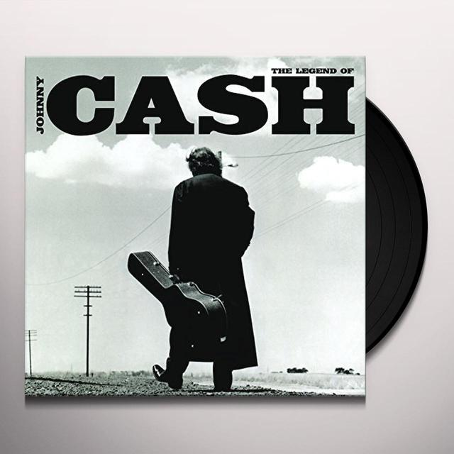 LEGEND OF JOHNNY CASH (HK) Vinyl Record