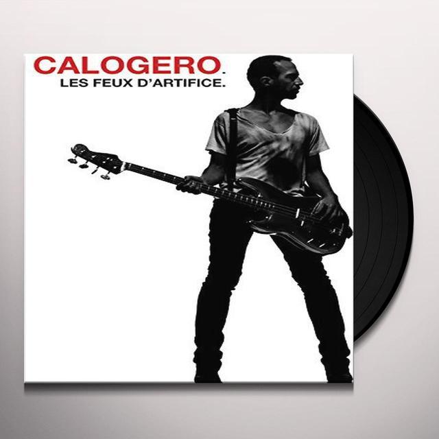 Calogero LES FEUX D'ARTIFICE Vinyl Record