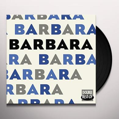 BARBARA DOUBLE BEST OF (FRA) Vinyl Record