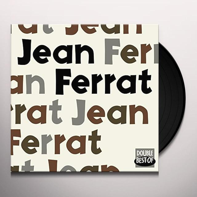Jean Ferrat DOUBLE BEST OF Vinyl Record