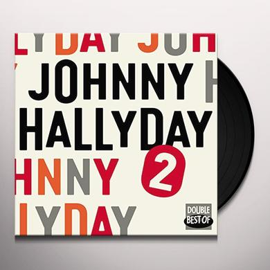 Johnny Hallyday DOUBLE BEST OF VOL.2 (FRA) Vinyl Record
