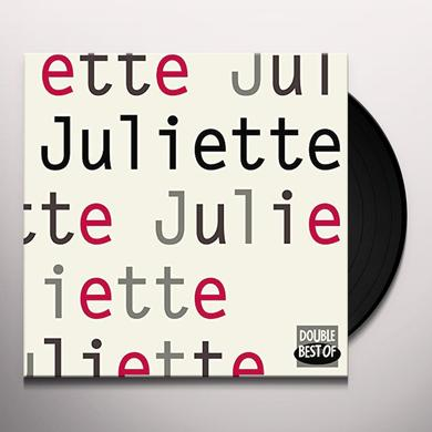 JULIETTE DOUBLE BEST OF (FRA) Vinyl Record