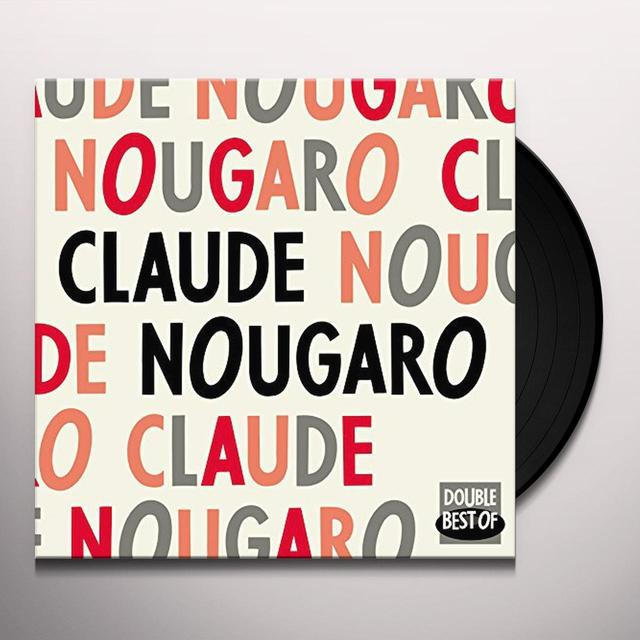 Claude Nougaro DOUBLE BEST OF Vinyl Record