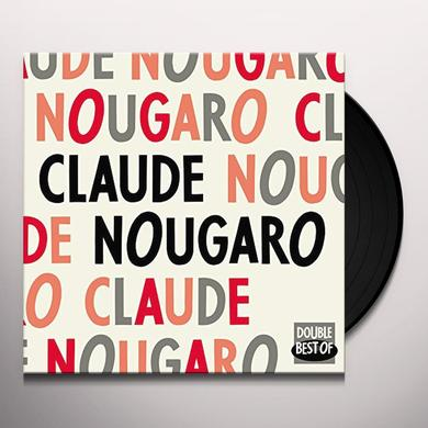 Claude Nougaro DOUBLE BEST OF (FRA) Vinyl Record