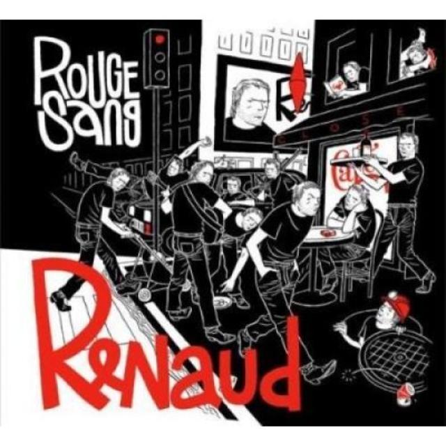 Renaud ROUGE SANG Vinyl Record