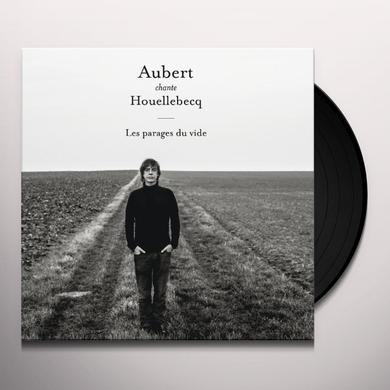 Jean-Louis Aubert AUBERT CHANTE HOUELLEBECQ Vinyl Record