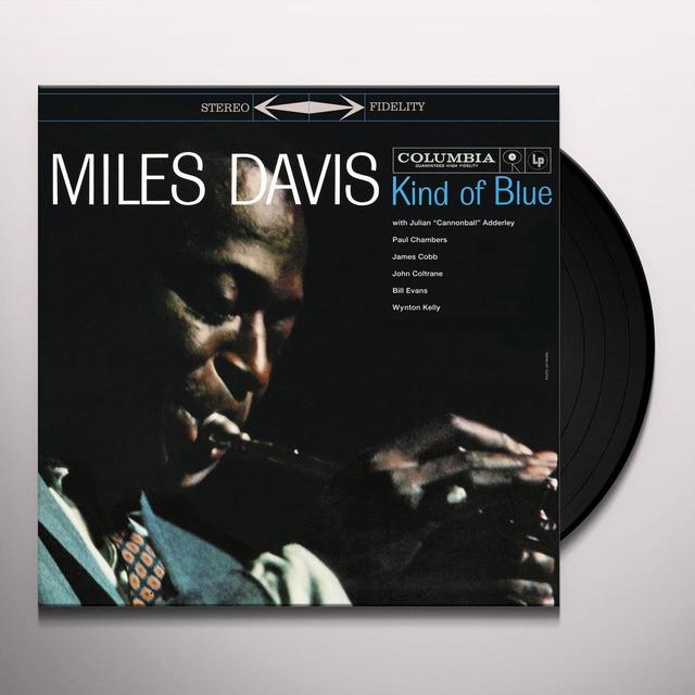 Miles Davis KIND OF BLUE Vinyl Record - Holland Release