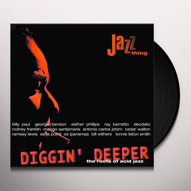 DIGGIN' DEEPER 1 / VARIOUS (HOL) DIGGIN' DEEPER 1 / VARIOUS Vinyl Record - Holland Import