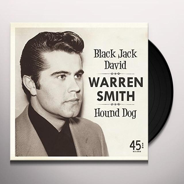 Warren Smith BLACK JACK DAVID Vinyl Record