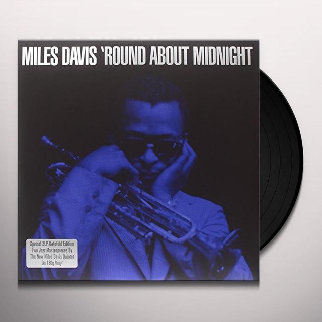 Miles Davis ROUND ABOUT MIDNIGHT Vinyl Record - UK Import