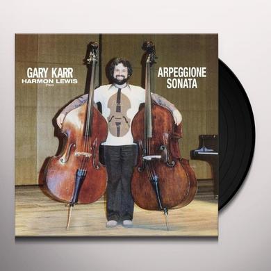 Gary Karr ARPEGGIONE SONATA Vinyl Record - 180 Gram Pressing
