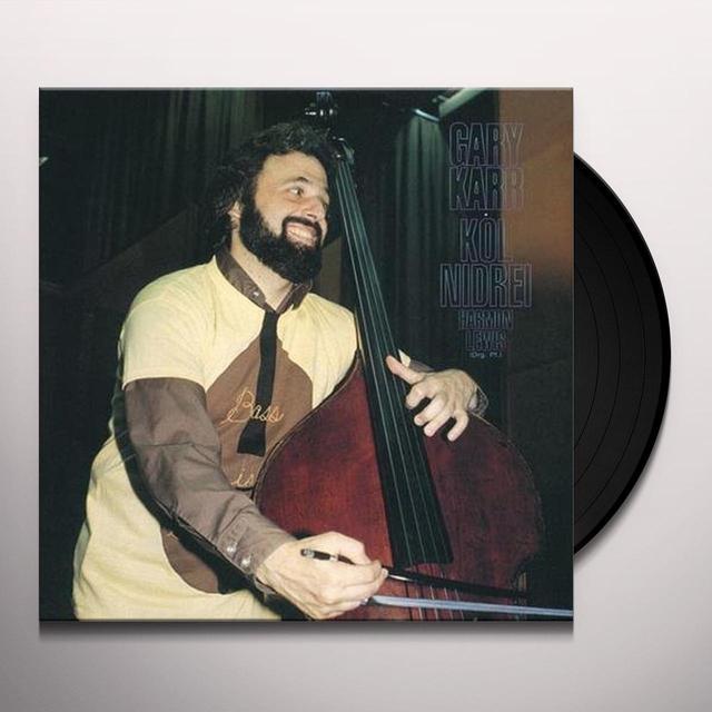 Gary Karr KOL NIDREI Vinyl Record - 180 Gram Pressing