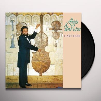 Gary Karr APRES UN REVE Vinyl Record - 180 Gram Pressing