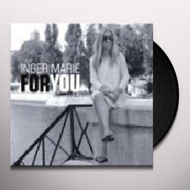 Inger Marie Gundersen FOR YOU Vinyl Record - 180 Gram Pressing