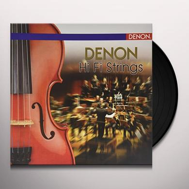 DENON HI FI STRINGS / VARIOUS (OGV) DENON HI FI STRINGS / VARIOUS Vinyl Record - 180 Gram Pressing