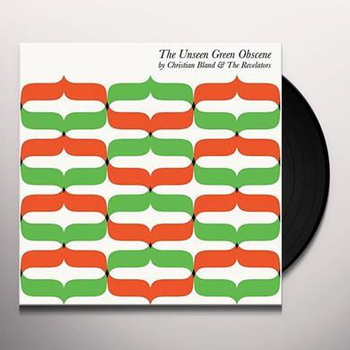 Christian Bland and the Revelators UNSEEN GREEN OBSCENE Vinyl Record