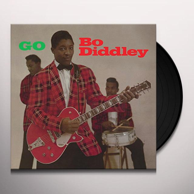 GO BO DIDDLEY Vinyl Record - Gatefold Sleeve, Limited Edition, 180 Gram Pressing